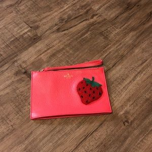 'On Purpose' strawberry wristlet